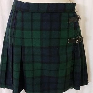 Sexy Plaid School Girl Skirt